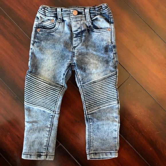 Zara baby boy biker jeans size 12-18mos. M 5a7f17808df47086b94e4080 9197387bd30